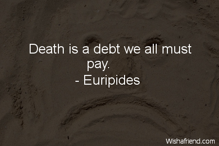 Euripides quotes on death