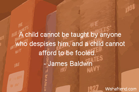 James Baldwin Quotes About Children