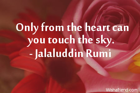 Jalaluddin Rumi Quotes Jalaluddin Rumi Quote