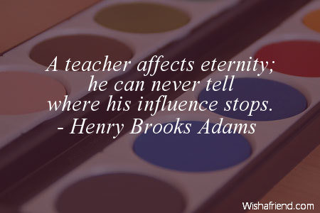 a teacher affects an eternity Makes a great gift for a special teacher  a teacher affects eternity wall decal  a teacher affects eternity wall decal view detailed images (1) vinyl colors.